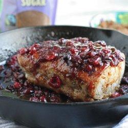 Cranberry Glazed Pork Loin