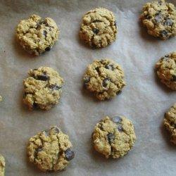 Vegan Oatmeal Carob Cookies