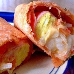 Tasty Tortilla Breakfast Sandwich