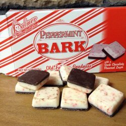 Christmas Peppermint Bark Candy