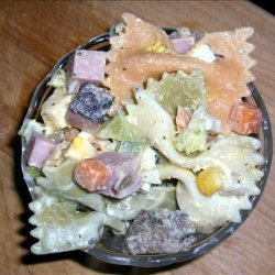 Picnic Pasta Salad -- One Dish Meal