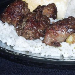 Chicken Livers With Rice