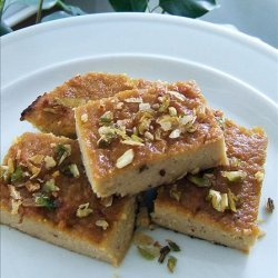 Mung Bean Cake With Coconut Milk