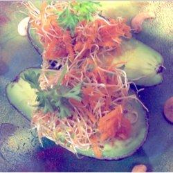 Avocado With Alfalfa