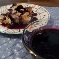 Maple-Blueberry Syrup
