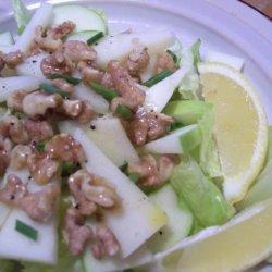 Ensalada De Manzanas Con Manchego recipe