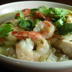 Green Curry With Shrimp and Fish (Kaeng Khiao)