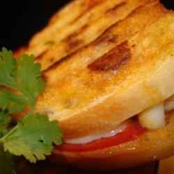 Jalapeño Garlic Tilapia Panini recipe