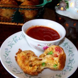 Mexican Rice Balls -  Leftover Rice