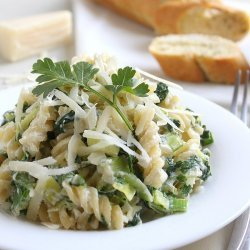 Pasta With Leeks and Parsley