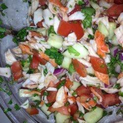Crab Ceviche Appetizer