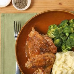 Anita Baker's Smothered Chicken