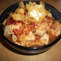 Fiesta Chicken Soup - Crock Pot