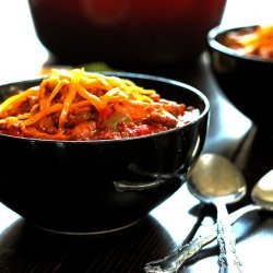 Pork, Beef and Bean Chili