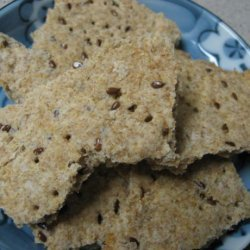 Flax Seed Cracker Bread