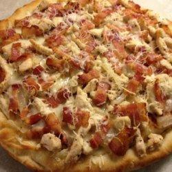 Grilled Chicken Flatbread Pizzas