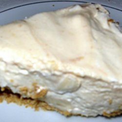 Peanut Butter and Banana Pie