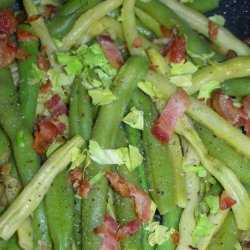 Cajun-Style Green Beans With Tabasco