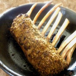 Rack of Lamb (With Lemon Rosemary Baste)