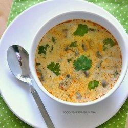 Thai Spicy Soup - Vegan