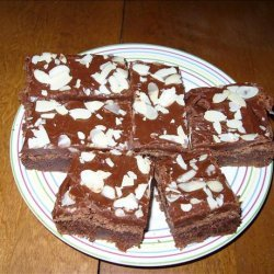 Chocolate Amaretto Brownies
