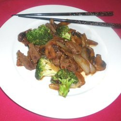 Nat's easy peppery Beef Broccoli Stir Fry recipe