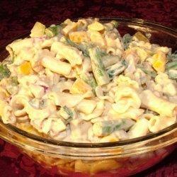 Mostaccioli Pasta Primavera Salad