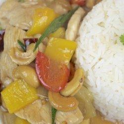 Stir Fried Cashew Chicken