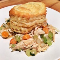 Easy Chicken Pot Pie (Without All the Cream)