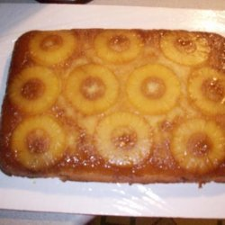 Poohrona's Pineapple Upside-Down Cake