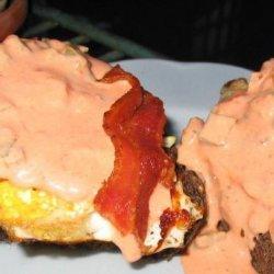 Border Eggs Benedict recipe