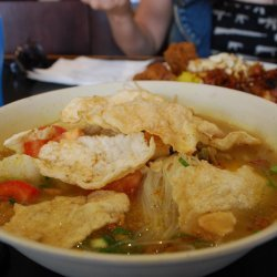 Indonesian Chicken Noodle Soup (Soto Ayam)
