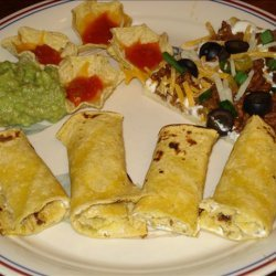 Green Tortilla Pinwheels