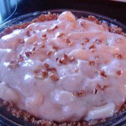 Banana-Pecan Pie (Raw Foods)