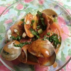 Clams With Tomato and Basil