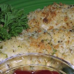 Parmesan-Crusted Chicken Fingers