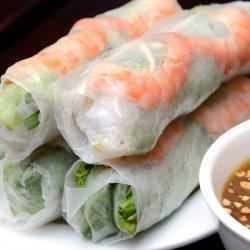 Vietnamese Fresh Spring Rolls ( Goi Cuon )