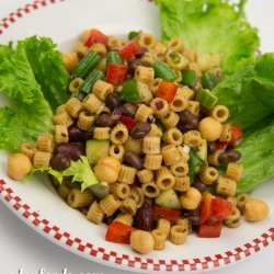 Sweet and Sour Bean Salad