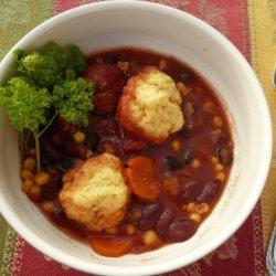 Southwestern Bean Soup (Crock Pot)