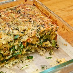 Impossible Spinach Pie