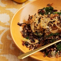 Caramelized Onions With Rice