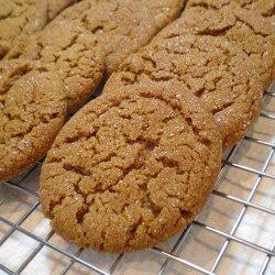 Molasses Spice Cookies With Dark Rum Glaze