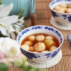 Ginger Rice Balls recipe