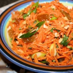 Carrot and Golden Raisin (Sultana) Salad recipe