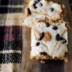 Swirled Pumpkin-Cream Cheese Bars