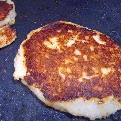 Garlic Mashed Potato Pancakes