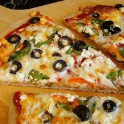 Mediterranean Greek Pizza