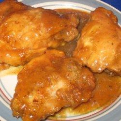 Honey-Mustard Chicken Thighs