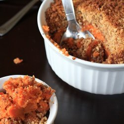 Sweet Potato Pecan Streusel