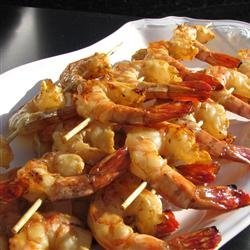 Honey Grilled Shrimp recipe
